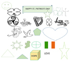 ST. PATRICK'S DAY COLORING PAGE   K-3
