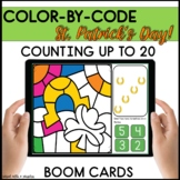 ST. PATRICK'S DAY COUNTING BOOM CARDS