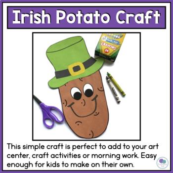 ST. PATRICK'S DAY CRAFT IRISH POTATOES