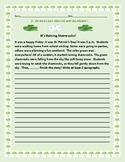 ST. PATRICK'S DAY CREATIVE WRITING PROMPT: IT'S RAINING SHAMROCKS!
