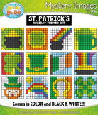 ST. PATRICK'S DAY Mystery Images Clipart {Zip-A-Dee-Doo-Dah Designs}