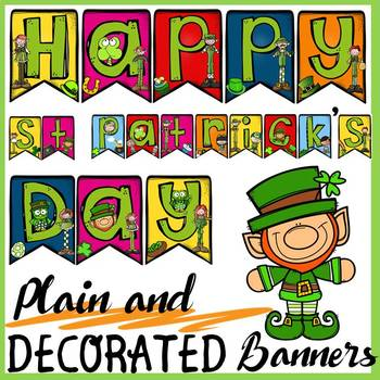 ST PATRICK'S DAY: DISPLAY BANNERS