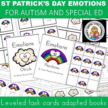 ST PATRICK'S DAY EMOTIONS  FOR AUTISM AND SPECIAL EDUCATION