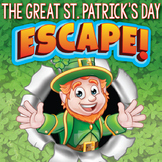 ST. PATRICK'S DAY Escape Room (Team Building Activities)