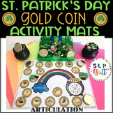 ST. PATRICK'S DAY GOLD COIN SMASH & ACTIVITY MATS, ARTICUL