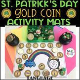ST. PATRICK'S DAY GOLD COIN SMASH & ACTIVITY MATS, LANGUAG