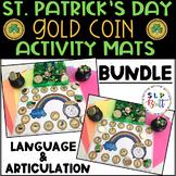 ST. PATRICK'S DAY GOLD COIN SMASH MATS BUNDLE, ARTICULATIO