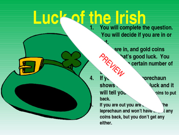 ST. PATRICK'S DAY-MAKE IT YOUR OWN