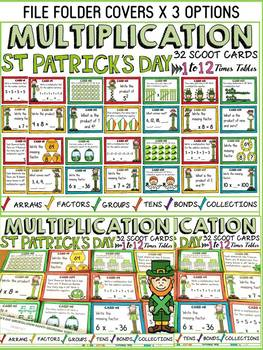 ST PATRICK'S DAY MULTIPLICATION SCOOT