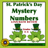 ST. PATRICK'S DAY MYSTERY NUMBERS • Multi-Step Math Review