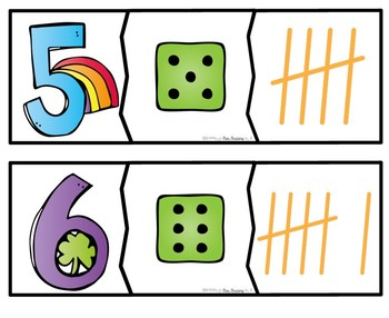 ST. PATRICK'S DAY Number Puzzles 1-20