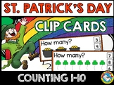 MARCH ACTIVITY PRESCHOOL (ST. PATRICK'S DAY COUNTING CENTE