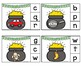 ST. PATRICK'S DAY Pot O' Gold Beginning and Ending Sounds Clip Cards