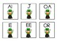 ST PATRICK'S -THEMED JOLLY PHONICS  FLASH CARDS