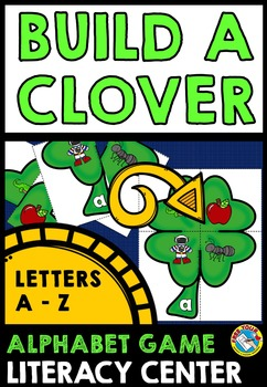 ST PATRICK'S DAY LITERACY ACTIVITIES (ALPHABET CENTER) BEG