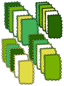 ST PATRICK'S DAY CLIP ART * BORDERS & FRAMES * COLOR AND B