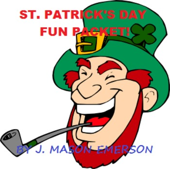 ST PATRICK'S DAY FUN PACKET! (CCSS, HISTORY, READING, MATH)