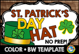 ST PATRICKS DAY CRAFT: ST. PATRICK'S DAY HAT TEMPLATES: HO