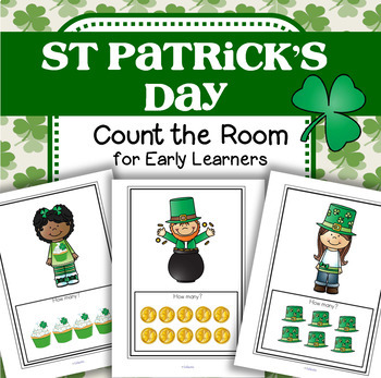 ST. PATRICK'S DAY Count the Room Number Treasure Hunt