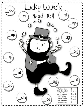 ST. PATRICK'S DAY Learning Fun!! (Sight Words, Word Families, Find Someone Who!)
