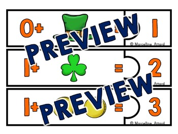 ST PATRICKS DAY MATH: ST. PATRICK'S DAY ADDITION: COUNTING ON