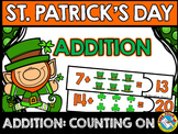 MARCH ACTIVITY KINDERGARTEN (ST. PATRICK'S DAY ADDITION COUNTING ON PUZZLES)