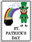 ST. PATRICK'S DAY MINI READER BOOK