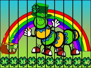 ST PATRICK'S DAY MATH: NUMBER PUZZLES & SKIP COUNTING PUZZLES