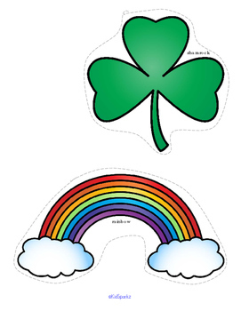 ST. PATRICK'S DAY Literacy and Numbers Centers and Activities Preschool