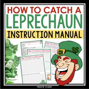 ST. PATRICK'S DAY INSTRUCTIONAL WRITING: LEPRECHAUN