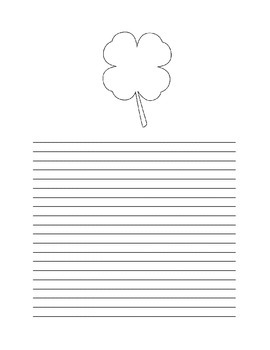 ST PATRICK'S DAY WRITING PAPER PACK