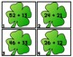 ST. PADDY SUMS 2-Digit Addition Scoot/Task Cards NO RG