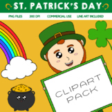 ST Patricks Day Clipart Pack