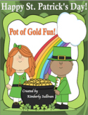 Free Downloads St. Patrick's Day! Unscramble the words! + 10 questions ELA