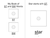 ST, SW BLENDS Adapted Velcro ARTICULATION Book, SPEECH THERAPY
