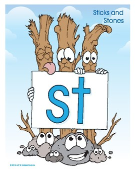 ST (Sticks and Stones) Blend Buddy Poster