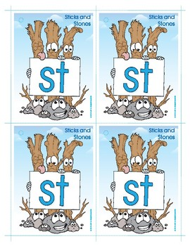 ST (Sticks and Stones) Blend Buddy Card