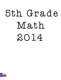 STAAR 5th Grade Math