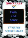 STAAR 5th grade science quick labs review Earth and Space