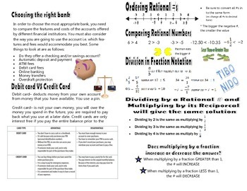 STAAR 6th Grade Math Review Booklet
