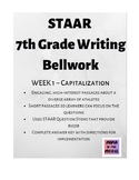STAAR 7th Writing Bellwork: Week 1