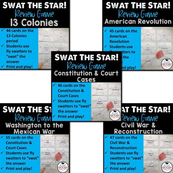 STAAR 8th SS Review - Swat the STAAR BUNDLE!