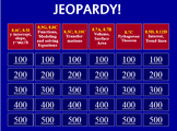 STAAR 8th grade Jeopardy Review