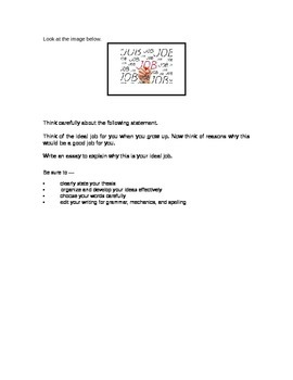 STAAR 9th Grade Expository Essay Topic