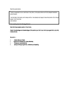 STAAR 9th grade Expository Essay