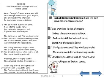 STAAR online formatted READING 5TH GRADE benchmark test w/54 questions