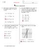 STAAR ALGEBRA 1 EOC CHECKPOINT - A.2B & A.2C