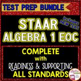 STAAR ALGEBRA 1 EOC Review TEST PREP BUNDLE