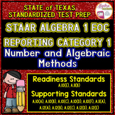 STAAR ALGEBRA 1 EOC Review Reporting Category 1 TEST PREP