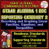 STAAR ALGEBRA 1 EOC Reporting Category 2 TEST PREP